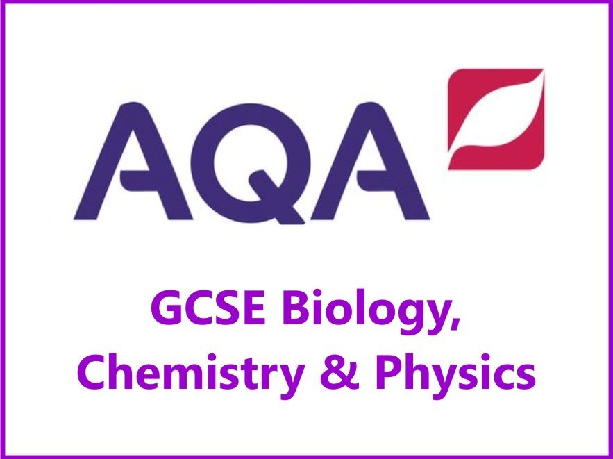 AQA Biology, Chemistry & Physics GCSE Grades 4, 6 & 8 Revision Checklists for Papers One & Two