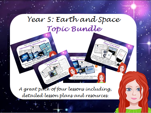 Space  - Year 5 Science Unit of Work.