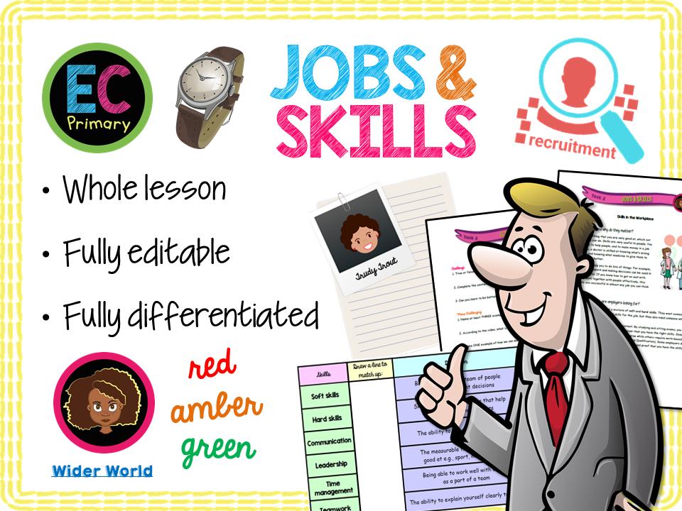 Careers and Skills KS2