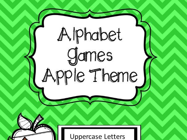 Apple Alphabet Games