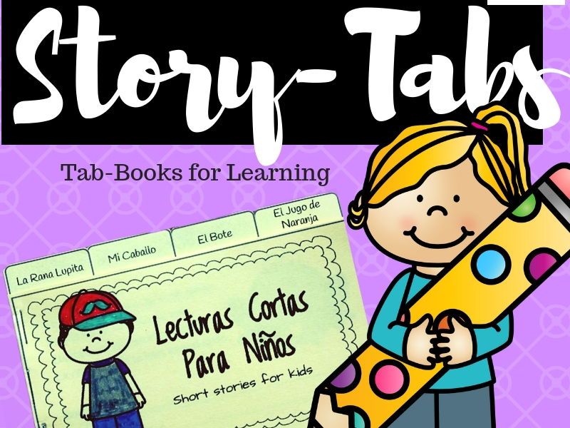 Story-Tabs: Lecturas Cortas Para Ninos (Spanish Tab-Books for Kids)