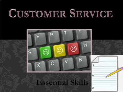 Customer Service Skills 30 Slide Powerpoint presentation and Worksheets / Activities