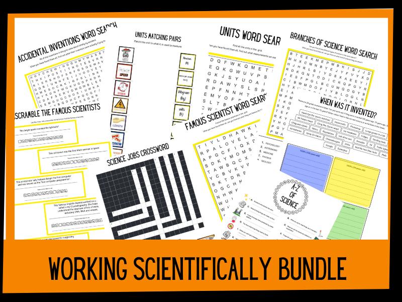 Working scientifically bundle | KS2