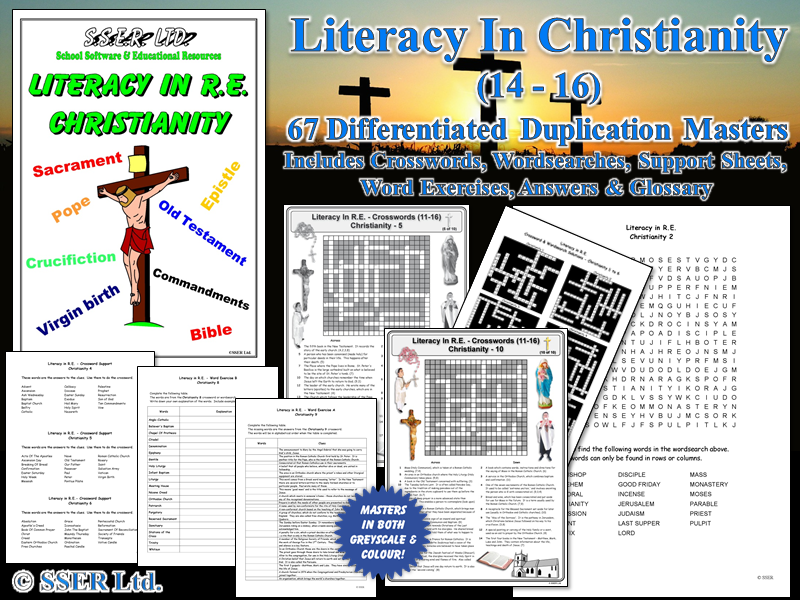 Literacy In Christianity - Print Masters