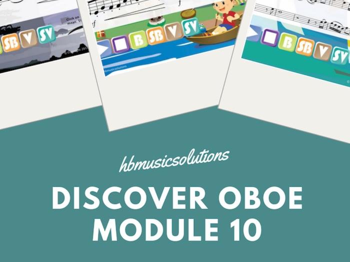 Discover Oboe Unit 10 Interactive Module