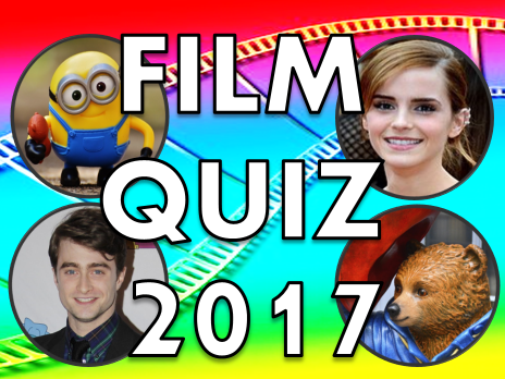End of Year Quiz 2017 Film –  end of term, movie news, activity, lesson, school, presentation, 2016