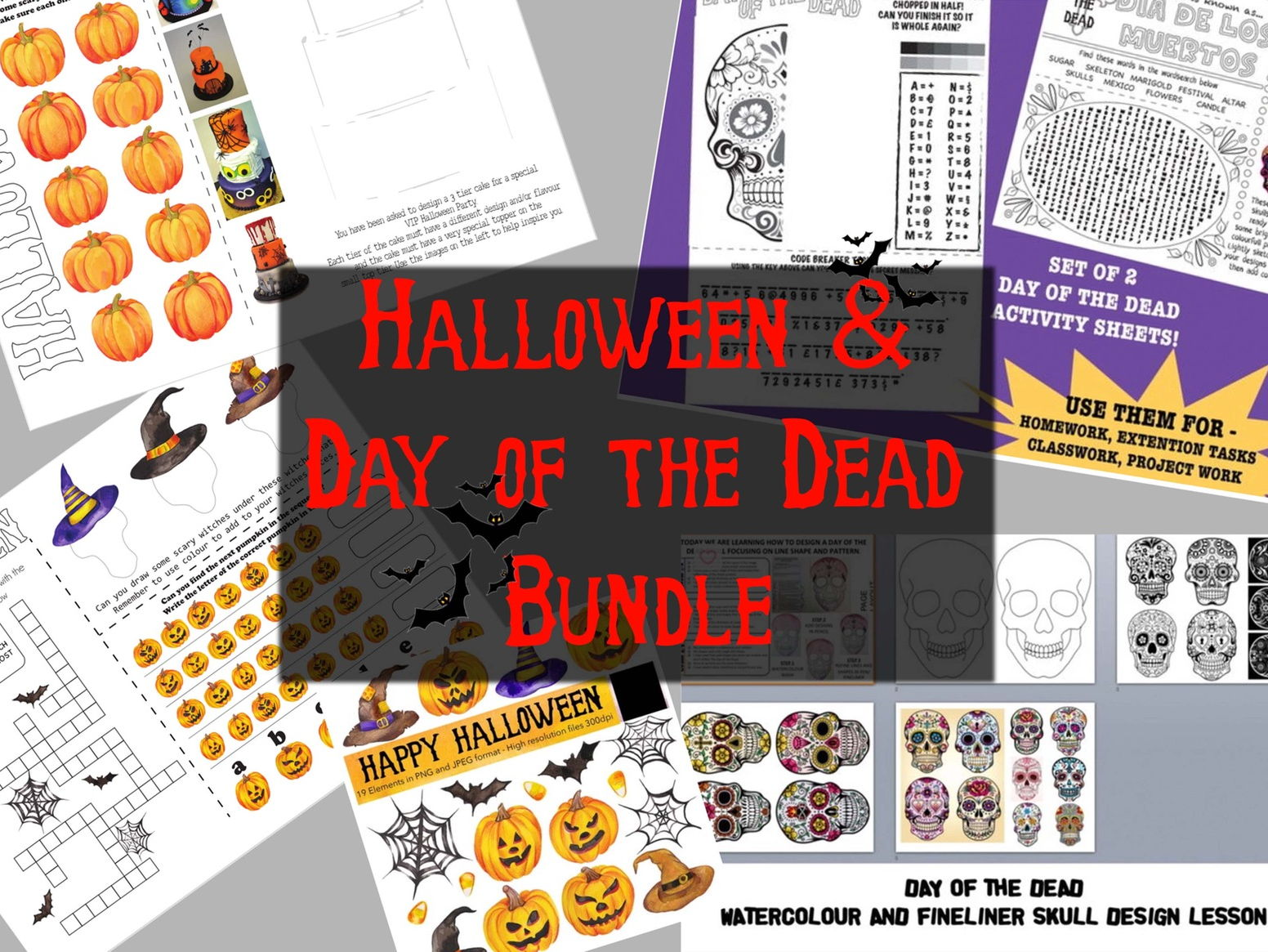 Halloween/ Day of the Dead Bundle