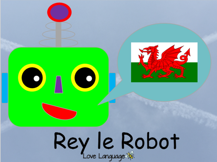Rey le Robot - countries in French