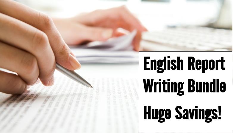 English Report Writing Bundle