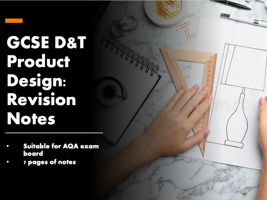 GCSE D&T Product Design - AQA Revision Notes