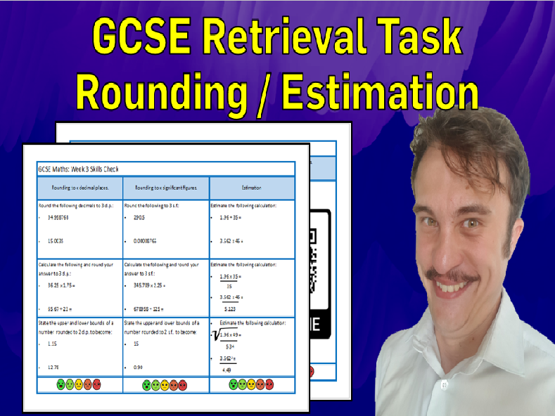 Rounding and Estimation GCSE Foundation/Resit Retrieval Sheet