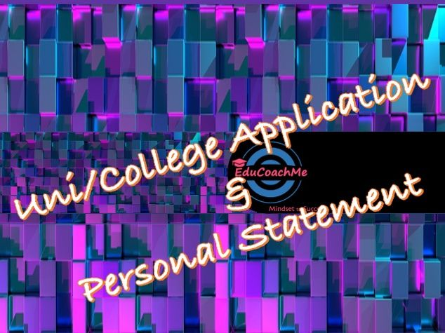 Students' university/college application and personal statement support