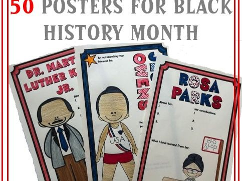 Black History Month - 50 Posters