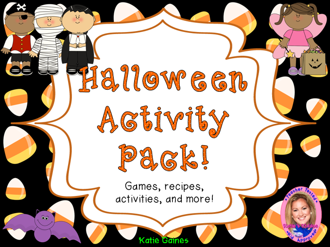 Halloween Activity Pack! Games, recipes, activities, and MORE!