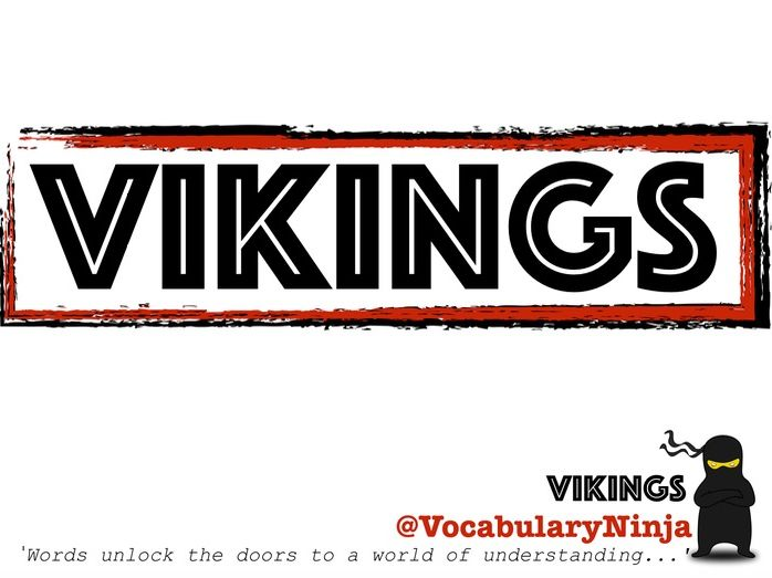 Vikings Topic Vocabulary Pack