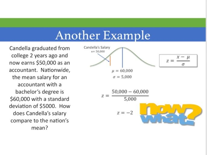 Statistics--The Normal Distribution (Part 2)