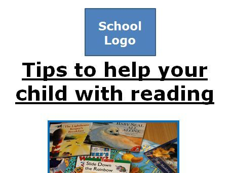 Support your child with Reading leaflet