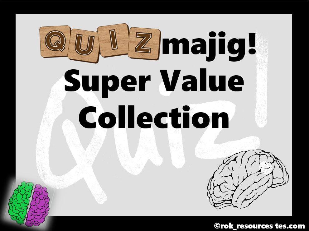 Quiz value collection - Quizmajig!
