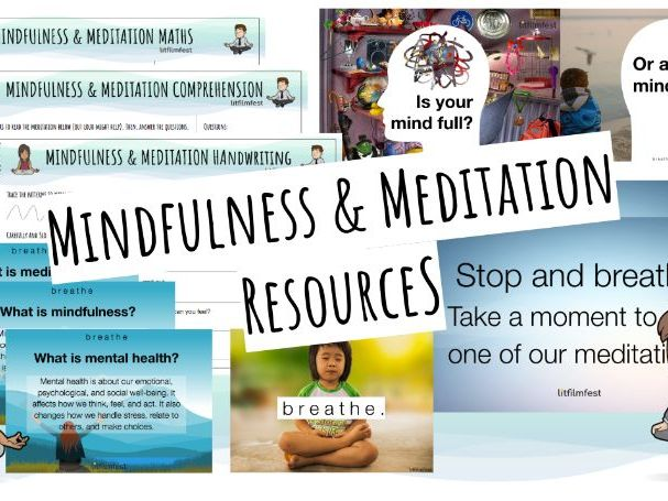 Free Mindfulness Display and Activity Pack