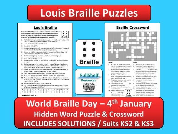 Louis Braille / World Braille Day