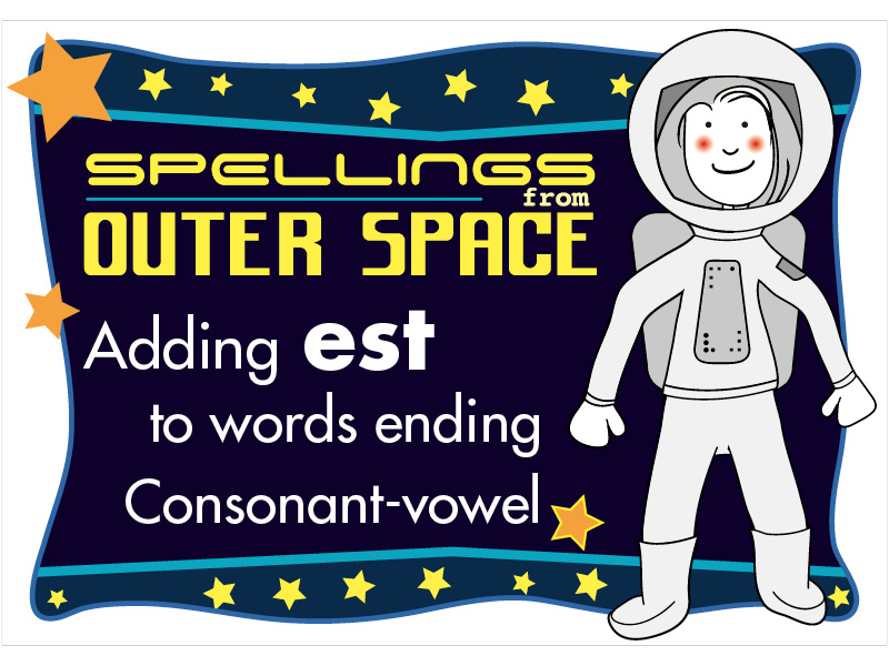Year 2 Spellings Adding EST to words ending with consonant-vowel