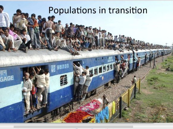 IB Geography - Populations in Transition