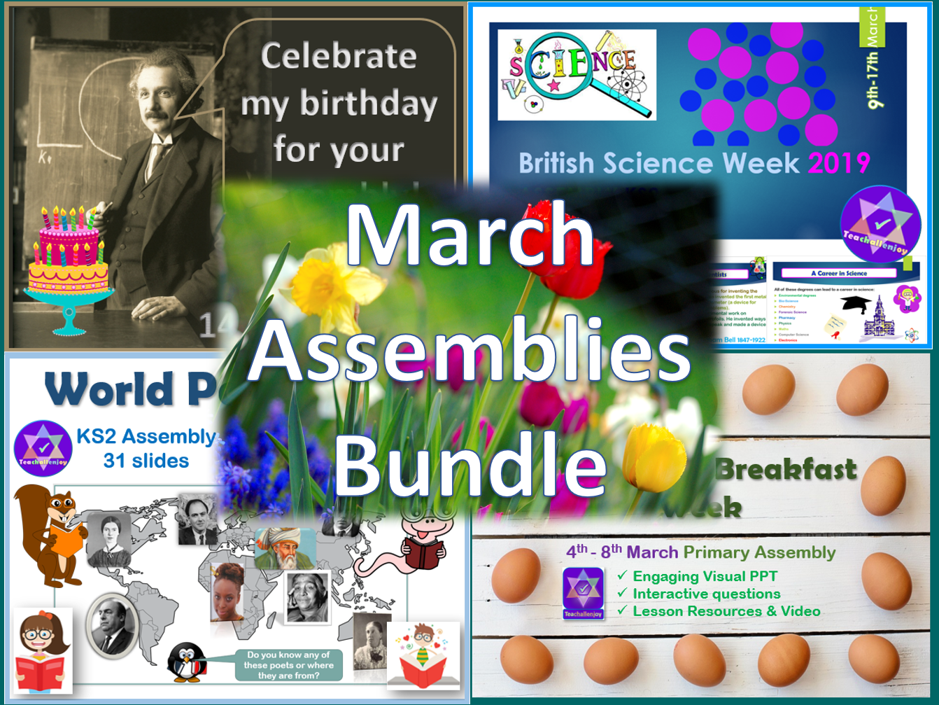 March Assemblies Bundle