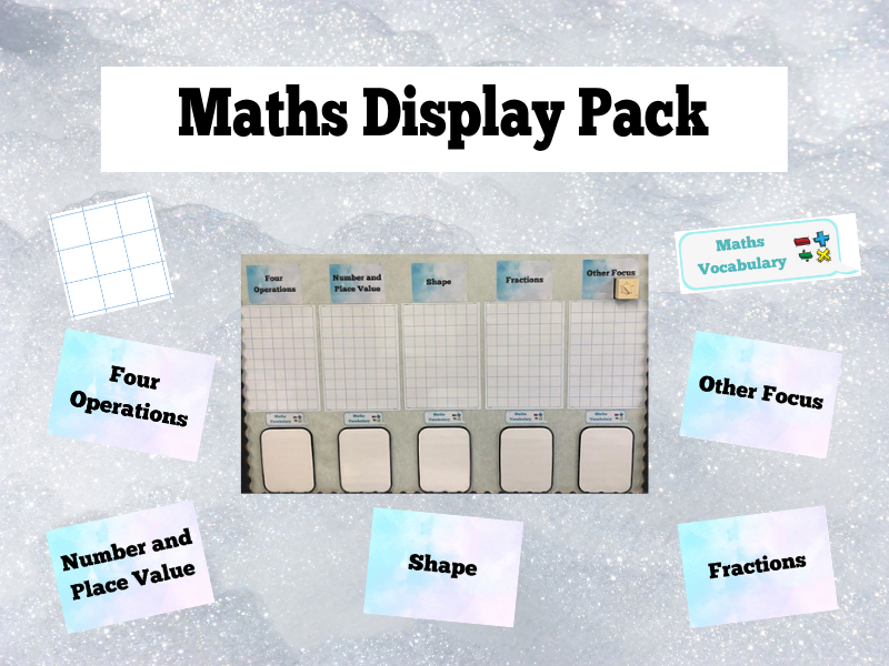 Maths Display Pack