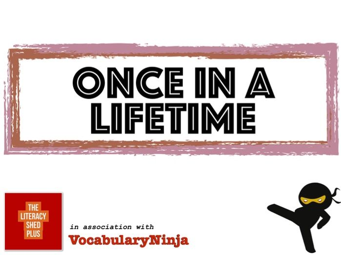 Once in a Lifetime Vocabulary Pack