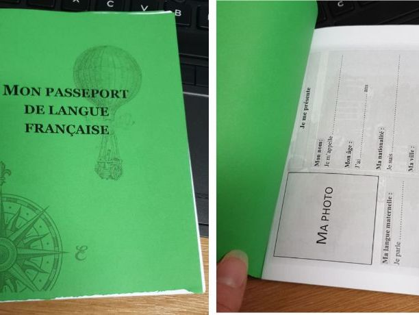 My French Language Passport