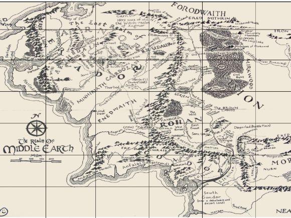 Ordnanc Survey Map Skills: Four-Figure Grid Reference Worksheet Resources (Australia & Middle Earth)