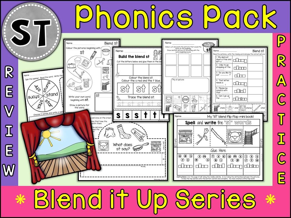 Phonics: Phonics Blend ST