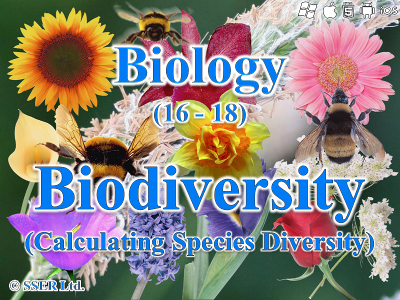 3.4.6 Biodiversity - Species Diversity Index (AQA, Edexcel & WJEC)