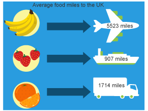 Food miles lesson - fully resourced Geography lesson for Key Stage 2 (KS2)