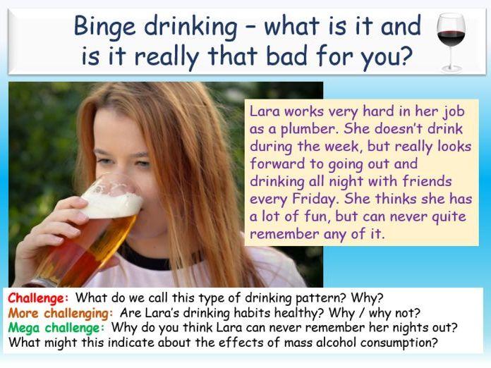 Alcohol - Binge Drinking