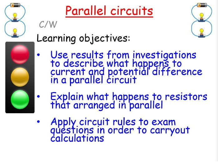New AQA GCSE Physics: Parallel circuits