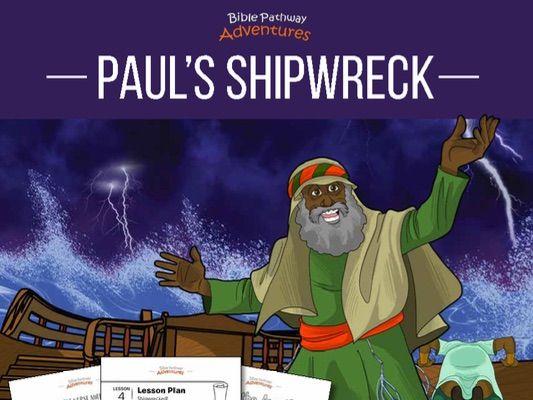 Paul's Shipwreck Activity Book