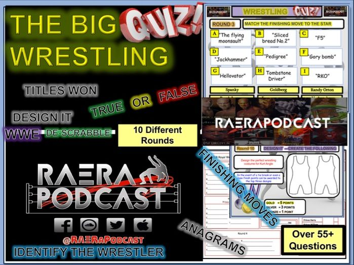 WWE Wrestling Quiz