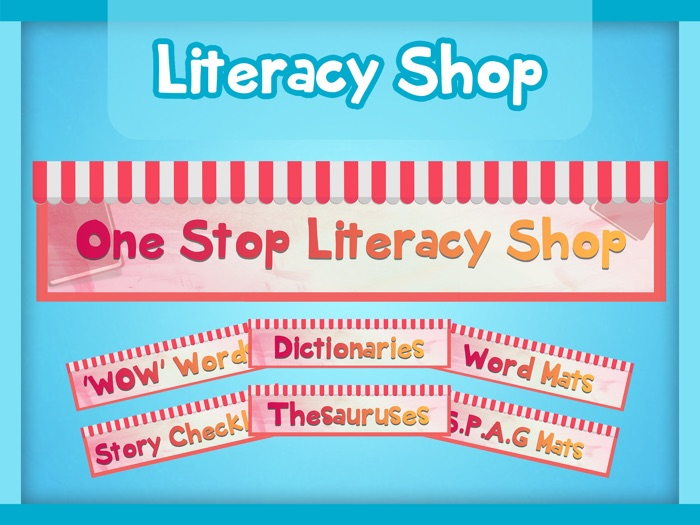One-Stop Literacy Shop Display Pack