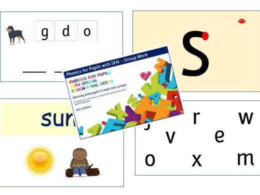 Group or Class Interactive Presentation Materials - Phonics for SEN