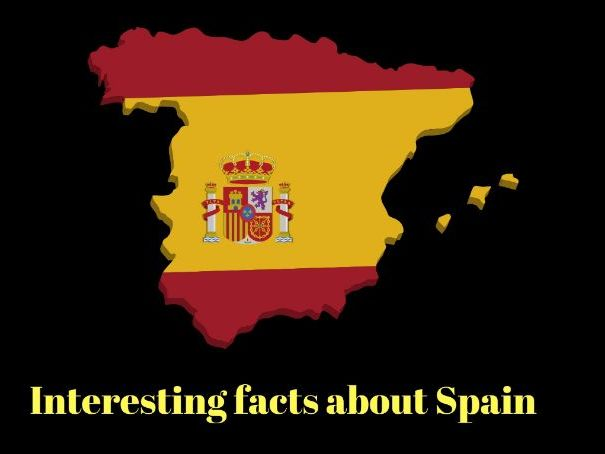 Interesting Facts about Spain (Datos interesantes sobre España) leccion de cultura