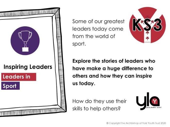 KS3 Inspiring Leaders in Sport