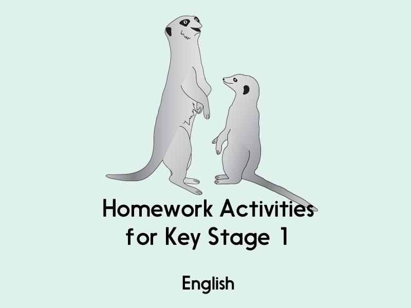 English Homework (Bundle 1) - KS1