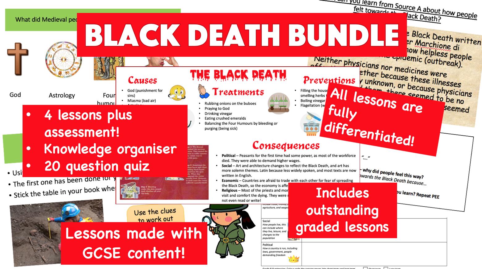 Black Death BUNDLE