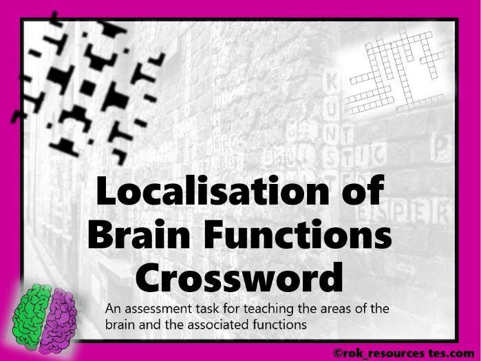 Biopsychology Crossword 3 - worksheet