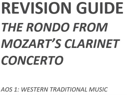 Mozart Clarinet Concerto Revision Guide
