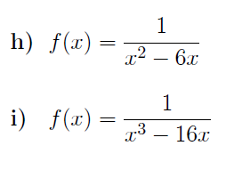 Domain and range of a function worksheet  (with solutions)