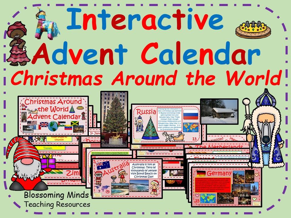Christmas Around the World Advent Calendar
