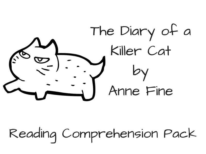 The Diary of a Killer Cat - Reading Comprehension
