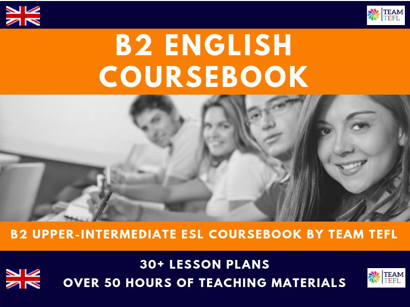 B2 Upper-Intermediate English Complete Coursebook For ESL